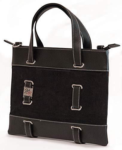 Mobile Edge Classic 11'' Corduroy Laptop Tote Bag, Computer Handbag in Black
