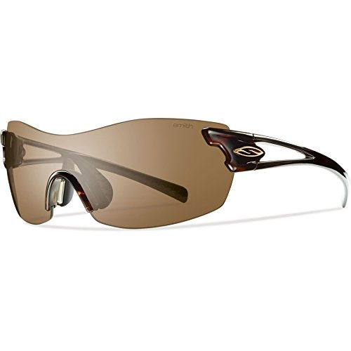 Smith Optics Pivlock Asana Sunglass with Brown, Ignitor Carbonic TLT Lenses, - Smith Tortoise Sunglasses