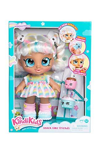 Kindi Kids Snack Time Friends, Pre-School 10 Doll - Marsha Mello