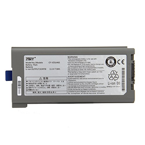 ZTHY Compatible 7800mAh CF-VZSU46S Battery Replacement for Panasonic Toughbook Cf-30 Cf-31 Cf-53 Laptop Cf-vzsu46au Cf-vzsu71u Cf-vzsu72u Cf-vzsu1430u CF-VZSU46 CF-VZSU46U 11.1V 9CELL by ZTHY (Image #1)