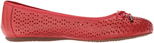 Flat Ballet Napa Laser SoftWalk Women's Red nvTgwxq1I