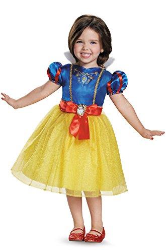 Snow White Toddler Classic Costume, Medium -