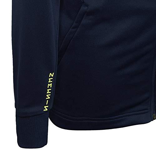 adidas Messi Fullzip Hoodie - Boys - Collegiate Navy/Yellow - Age 13-14