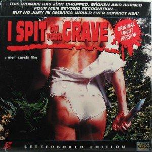 I Spit On Your Grave Laserdisc