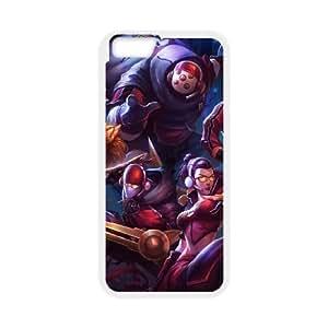 League of Legends(LOL) Jax iPhone 6 Plus 5.5 Inch Cell Phone Case White Phone Accessories LK_760347