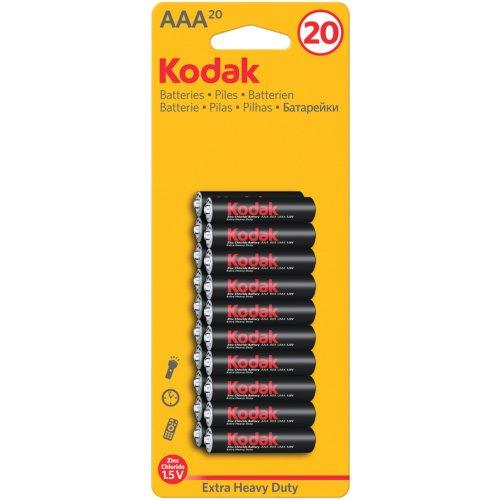KDKPK3AHZ20 - KODAK K3AHZ-20 30937765 Extra Heavy-Duty Carbon Zinc Batteries (AAA; 20 pk) ()