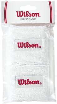 Wilson WRZ106000 Wristband White-Pair