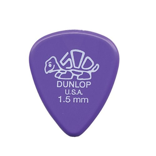 Dunlop 41P1.5 Delrin, Lavender, 1.5mm, 12/Player's Pack
