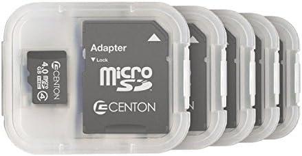 Amazon.com: Centon Electronics Class 4, 4GB Micro SDHC Card ...