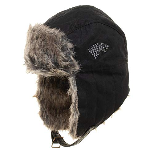 (Game of Thrones Faux Fur Trapper Hat Black)