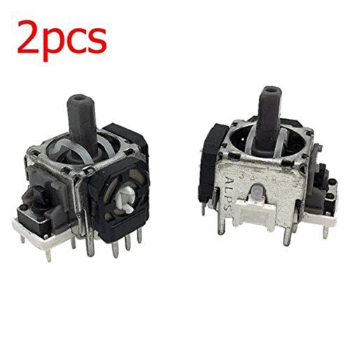 2x Analog Stick Replacement Switch for PS4 Xbox 3D Controller Button Manual Joystick