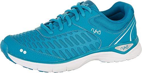 Ryka Women's RAE Walking Shoe, Blue, 8 M US