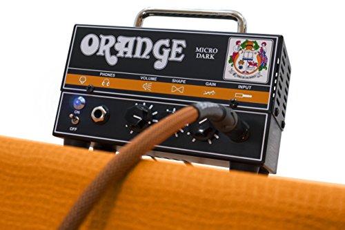 Orange MD20 Micro Dark 20-Watt Mini Guitar Amplifier Head Bundle with Instrument Cable and Austin Bazaar Polishing Cloth by Orange (Image #7)