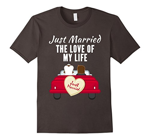Just Married Newlyweds Wedding T-Shirt