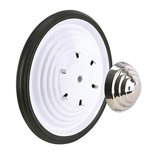 Blue Diamond Classics White Powder Coated Free Wheel and Tire Combos-White Ripple Wheel Kit