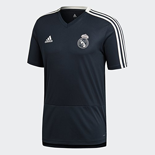 (World Cup Soccer Real Madrid Men's Soccer Training Jersey, Tech Onix, Medium)