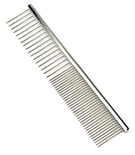 Safari Pet Products Medium Coarse Metal Dog Grooming Comb