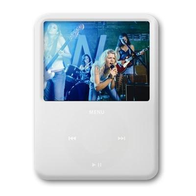 ezGear ezSkin for iPod nano 3G (White - Ezgear Case Protective