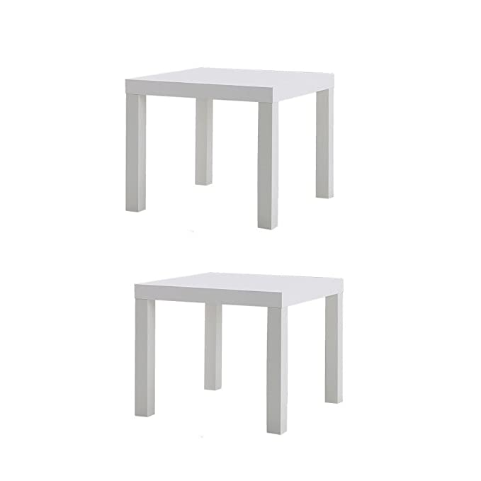 Amazon.com: IKEA FALTA mesa Final Lado (2 unidades), color ...