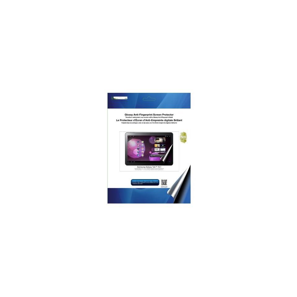 Green Onions Supply Glossy Anti Fingerprint Screen Protector for Samsung Galaxy 10.1 (RT SPBGT201AF)