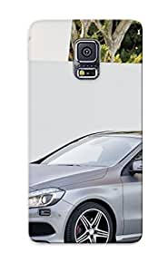 Premium Protection Mercedesbenz Nuova Classe Case Cover For Galaxy S5- Retail Packaging by Maris's Diary