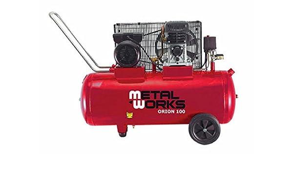 METALWORKS - 34976 : Compresor Orion 100L: Amazon.es: Bricolaje y herramientas
