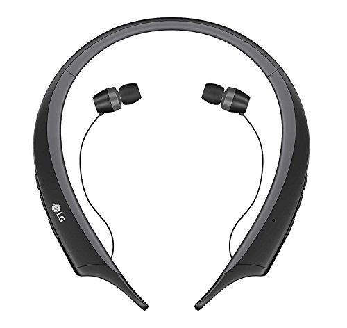 LG TONE ACTIVE HBS-A80 Wireless Bluetooth Stereo Headset - Black (Renewed)