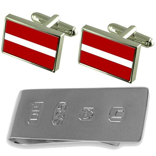 Bond Clip Money Latvia amp; James Flag Cufflinks Flag Latvia 0TZW88nR