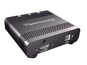 Matrox TripleHead2Go DP Edition - Splitter de vídeo (DisplayPort, Negro, 97 x 89 x 28 mm, • One 2-foot DisplayPort to DisplayPort input cable)