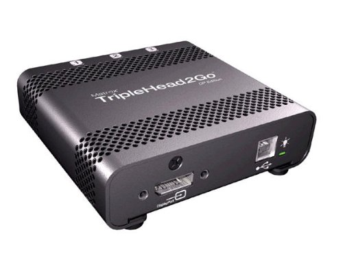 TripleHead2Go T2G-DP-MIF DP Edition Graphics Card (Port Head Go Triple Display To)