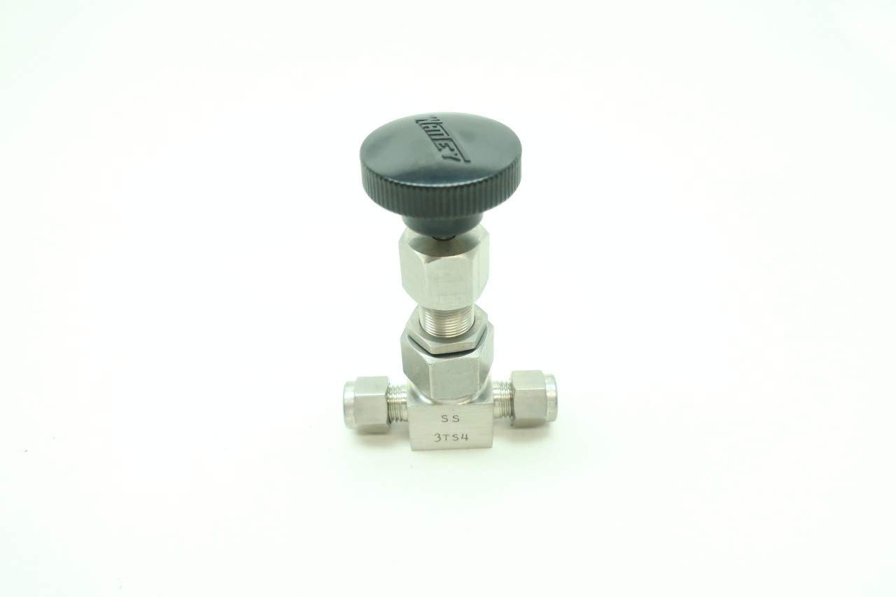 WHITEY SS-3TS4 Manual Stainless Shut-Off Valve 1//4IN Tube