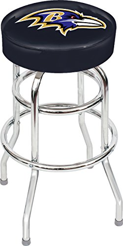 Imperial Officially Licensed NFL Furniture: Swivel Seat Bar Stool, Baltimore Ravens