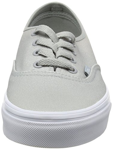 2 Vans High Tone Basses rise Gris Mixte Glitter White Authentic Baskets Adulte BqxrwvABY