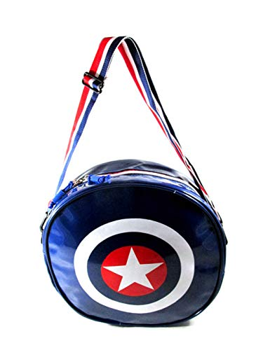ehuntz Polyester Captain America Shield with 2 Hanging Option School/College/Gym Waterproof Bag  Multicolour