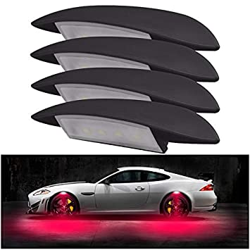 Amazon com: Mini Mexx Car-Styling Car Strobe LED Wheel Lights Tire