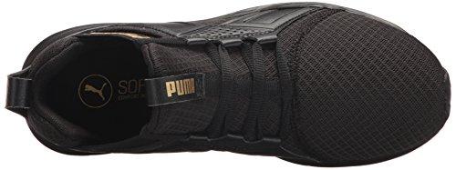 Black Femme Team puma Gold Mesh Enzo Pour Chaussures Premium Puma AOqYFq