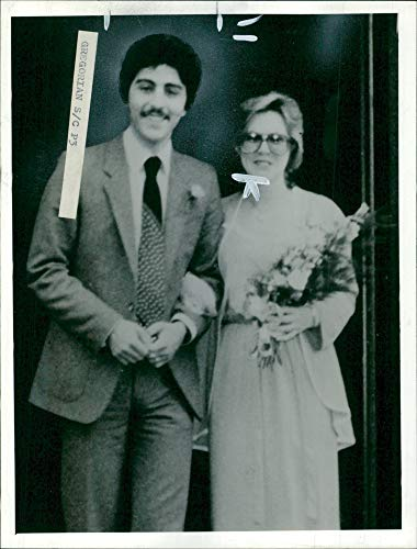Vintage photo of Zaven Bedros with his wife.