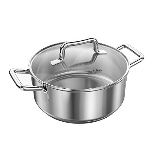 Mr Captain 18/10 Stainless Steel Dutch Oven Stockpot with Lid