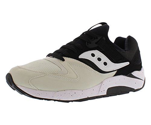 Nine Grid (Saucony Originals Men's Grid 9000 Sneaker,White/Black,8.5 M)