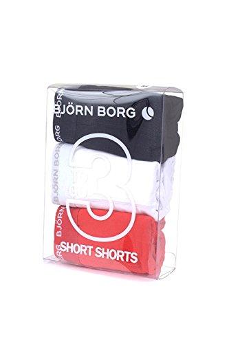 Björn Borg Herren Boxershort weiß Red White Black