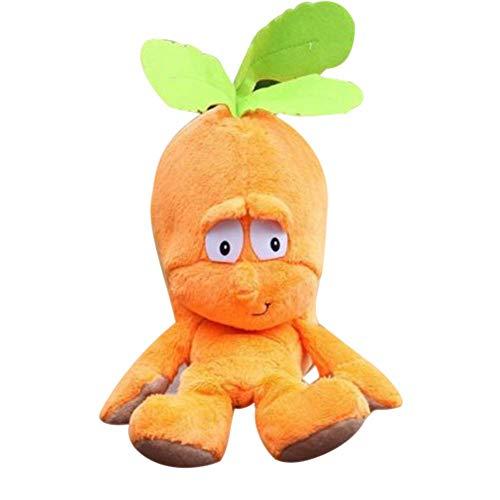 Reuvv 1 Piezas Muñeco de Peluche Fruta Verduras con Relleno Muñeca para Niños Infantil Ideal Cumpleaños Navidad Regalo…