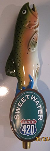 Sweetwater 420 Extra Pale Ale 11' Inch Draft Beer Tap (East Coast Ale)