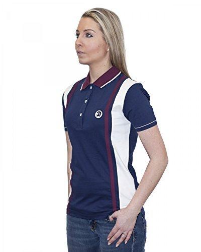 Donna TROIANO Maglietta Polo Slim Fit - TR 8141 Navy