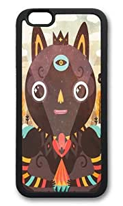 Apple Iphone 6 Case,WENJORS Adorable Over The Hill Soft Case Protective Shell Cell Phone Cover For Apple Iphone 6 (4.7 Inch) - Black