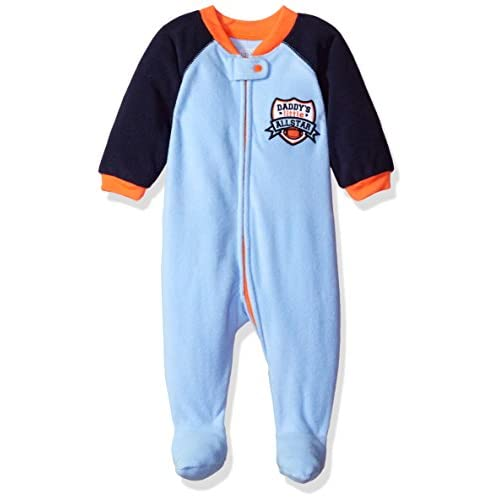 discount The Children's Place Boys' Long Sleeve One-Piece Pajamas for cheap