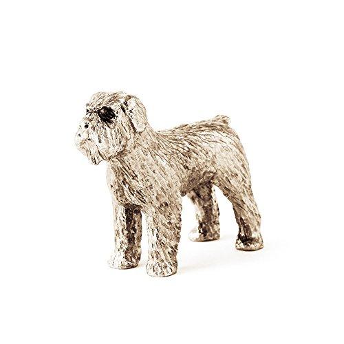 Bouvier Dog Figurine - Bouvier Des Flandres Made in UK Artistic Style Dog Figurine Collection