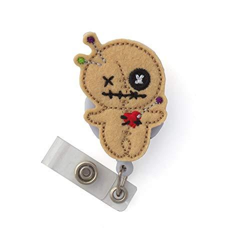 Voodoo Doll Badge Reel]()