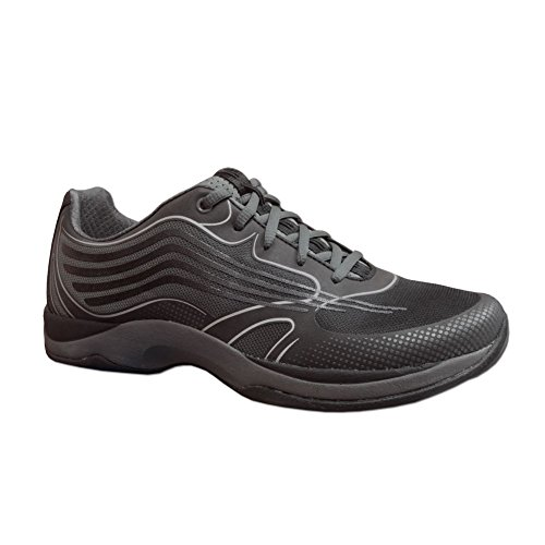 Dankso Women's Samantha Smooth Sneaker (Black, 36) by Dansko