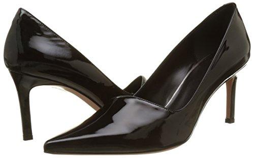 Zapatos Cerrada 02 Con Negro Mujer Punta De Oxitaly Para Tacón Stefy a7qpxp