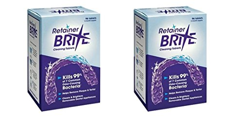 Tablets 6 Month Supply (Retainer Brite -6 Months Supply- 2 Boxes Pack -192 Tablets)